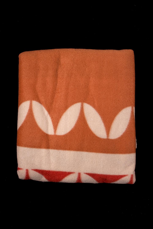 ПледПледы<br>Лёгкий нарядный плед, универсальное текстильное изделие, согревает в сырую погоду дома или в поездке, в туристическом походе, гостинице, косметическом салоне. А так же украшает интерьер.  В изделии использованы цвета: оранжевый, бежевый и др.<br><br>По материалу: Флис<br>По рисунку: С принтом (печатью),Цветные<br>По сезону: Всесезон<br>Размер : 180*200,200*220<br>Материал: Флис<br>Количество в наличии: 2