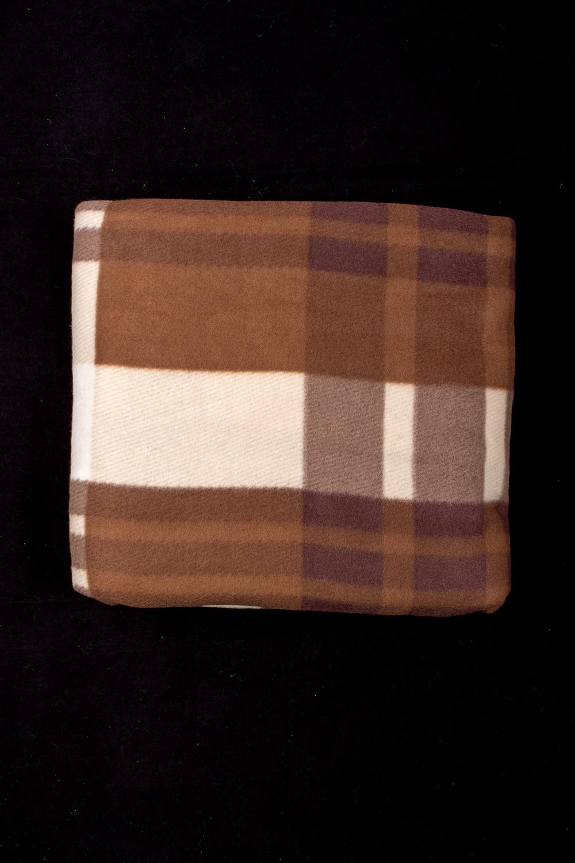 ПледПледы<br>Лёгкий нарядный плед, универсальное текстильное изделие, согревает в сырую погоду дома или в поездке, в туристическом походе, гостинице, косметическом салоне. А так же украшает интерьер.  В изделии использованы цвета: коричневый, бежевый.<br><br>По материалу: Флис<br>По рисунку: В полоску,С принтом (печатью),Цветные<br>По сезону: Всесезон<br>Размер : 180*200<br>Материал: Флис<br>Количество в наличии: 1