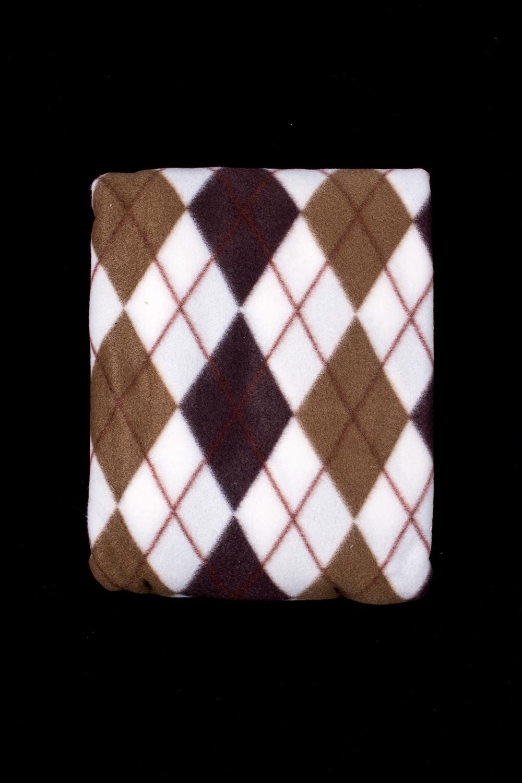ПледПледы<br>Лёгкий нарядный плед, универсальное текстильное изделие, согревает в сырую погоду дома или в поездке, в туристическом походе, гостинице, косметическом салоне. А так же украшает интерьер.  В изделии использованы цвета: коричневый, белый и др.<br><br>По материалу: Флис<br>По рисунку: В полоску,С принтом (печатью),Цветные<br>По сезону: Всесезон<br>Размер : 150*200<br>Материал: Флис<br>Количество в наличии: 1