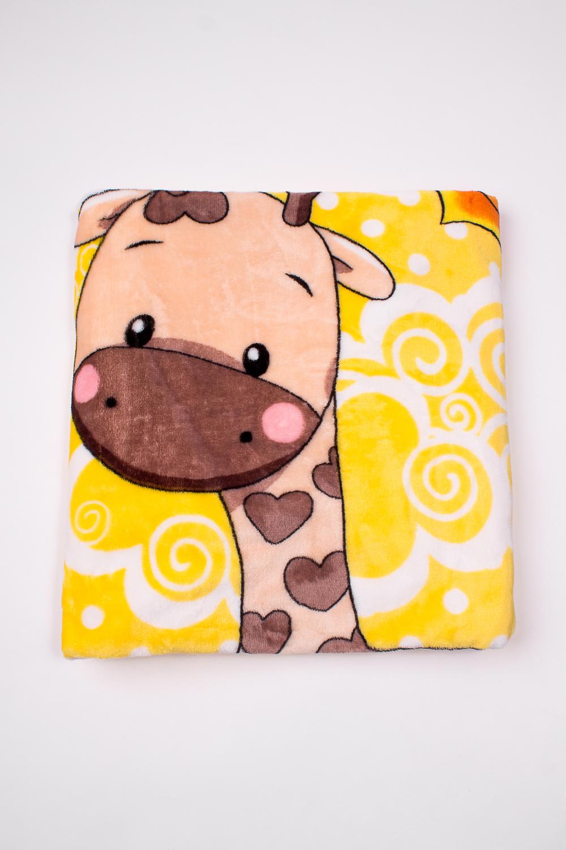 ОдеялоОдеяла и подушки<br>Мягкое, легкое, приятное на ощупь одеяло. Практичное, устойчивый к разного рода загрязнениям, легко стирается, моментально сохнет.  В изделии использованы цвета: желтый, бежевый, белый и др.<br><br>Размер : 100*110<br>Материал: Велсофт<br>Количество в наличии: 2