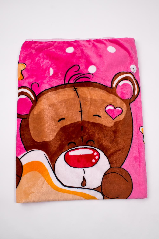 ОдеялоОдеяла и подушки<br>Мягкое, легкое, приятное на ощупь одеяло. Практичное, устойчивый к разного рода загрязнениям, легко стирается, моментально сохнет.  В изделии использованы цвета: розовый, коричневый и др.<br><br>Размер : 100*110<br>Материал: Велсофт<br>Количество в наличии: 2