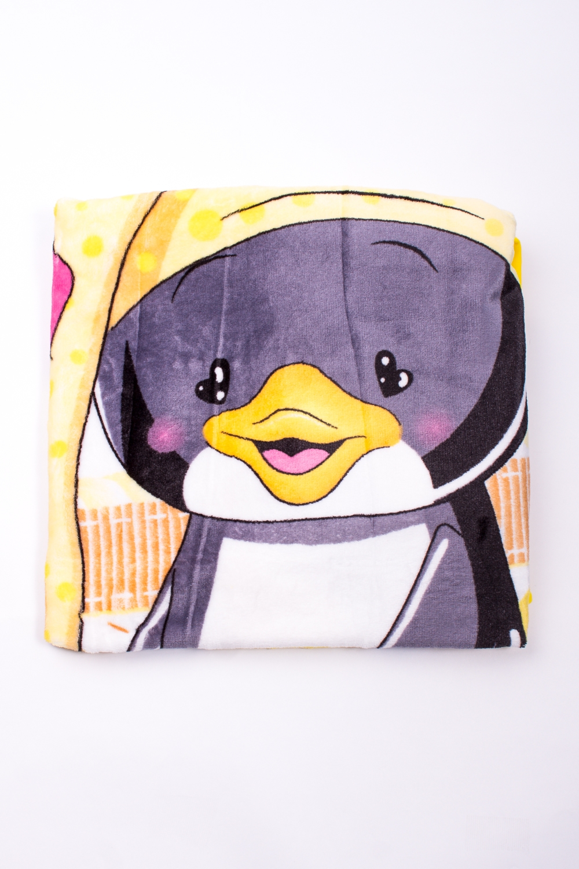ПледОдеяла и подушки<br>Мягкое, легкое, приятное на ощупь одеяло. Практичное, устойчивый к разного рода загрязнениям, легко стирается, моментально сохнет.  В изделии использованы цвета: серый, желтый и др.<br><br>Размер : 100*100<br>Материал: Флис<br>Количество в наличии: 1