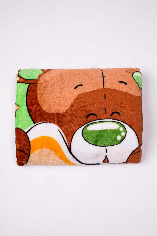ОдеялоОдеяла и подушки<br>Мягкое, легкое, приятное на ощупь одеяло. Практичное, устойчивый к разного рода загрязнениям, легко стирается, моментально сохнет.  В изделии использованы цвета: зеленый, коричневый и др.<br><br>Размер : 100*110<br>Материал: Велсофт<br>Количество в наличии: 2