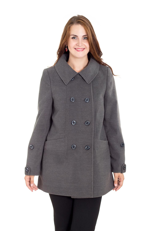 ПальтоПальто<br>Демисезонные женские пальто – это отличный выбор для весны и осени. Теплые и уютные изделия создадут невероятно стильный, утонченный и женственный образ.  Пальто с длинными рукавами и воротником. Застежка - пуговицы.  Цвет: серый.  Рост девушки-фотомодели 180 см<br><br>Воротник: Стояче-отложной<br>Застежка: С пуговицами<br>По длине: До колена,Короткие<br>По материалу: Пальтовая ткань,Шерсть<br>По образу: Город<br>По рисунку: Однотонные<br>По силуэту: Полуприталенные,Прямые<br>По стилю: Классический стиль,Кэжуал,Офисный стиль,Повседневный стиль<br>По элементам: С воротником,С декором,С карманами,С отделочной фурнитурой,С патами<br>Рукав: Длинный рукав<br>По сезону: Осень,Весна<br>Размер : 50,52,54,56,58<br>Материал: Пальтовая ткань<br>Количество в наличии: 5