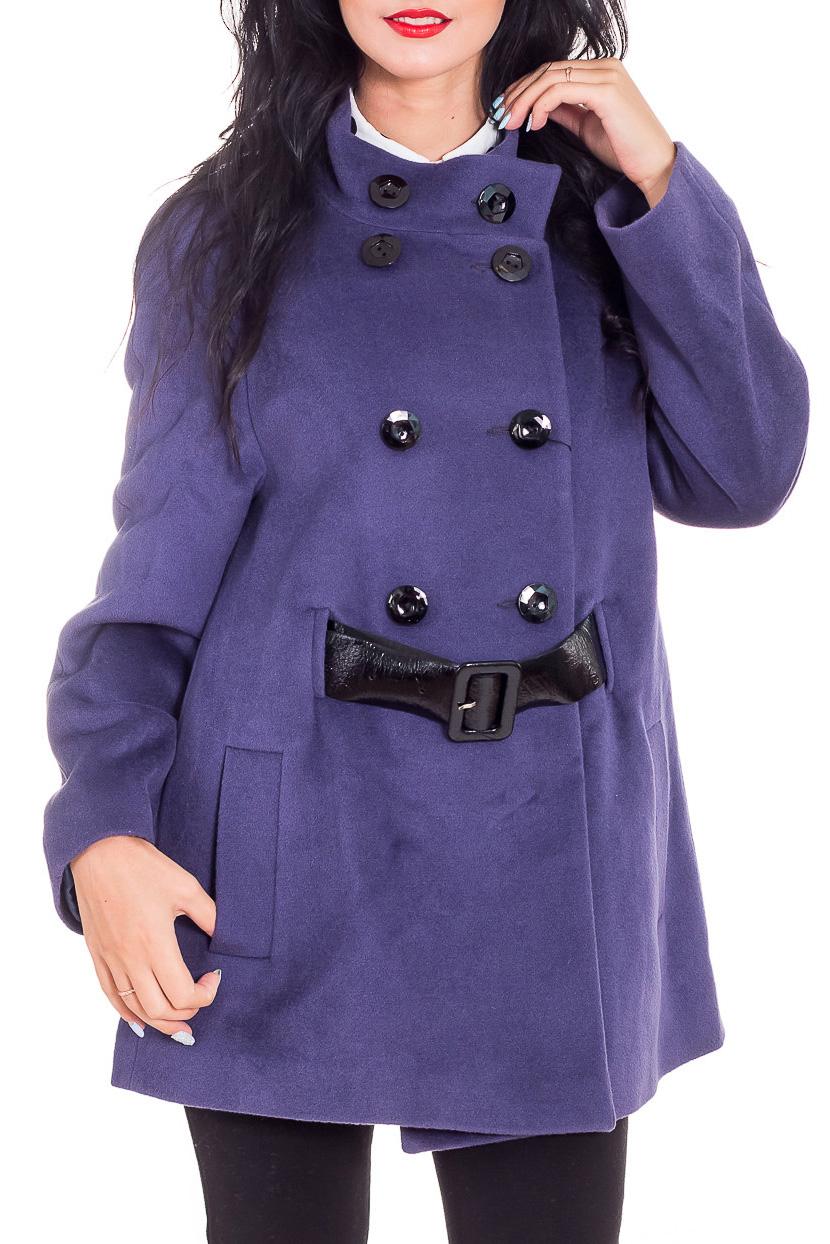 ПальтоПальто<br>Демисезонное пальто полуприталенного силуэта, длинной до линии бедра, с карманами, застежка на пуговицы. Модель с подкладом. Пальто без пояса. Ростовка изделия 170 см.  Цвет: фиолетовый  Рост девушки-фотомодели 173 см.<br><br>Воротник: Стойка<br>Застежка: С пуговицами<br>По длине: До колена<br>По материалу: Пальтовая ткань<br>По образу: Город<br>По рисунку: Однотонные<br>По силуэту: Свободные<br>По стилю: Повседневный стиль<br>По элементам: С карманами<br>Рукав: Длинный рукав<br>По сезону: Осень,Весна<br>Размер : 52<br>Материал: Пальтовая ткань<br>Количество в наличии: 1