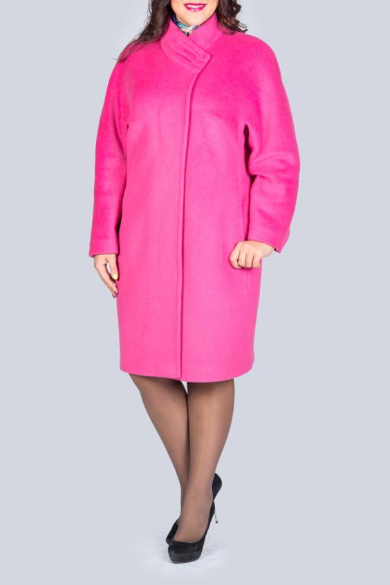 ПолупальтоПальто<br>Это модное женское пальто символизирует стиль, элегантность, размеренность и при этом необыкновенную женственность. Именно пальто наилучшим образом передает все линии и изгибы женского тела, а благодаря своему крою, визуально удлиняет формы и делает их стройнее.  В изделии использованы цвета: розовый  Ростовка изделия 170 см.<br><br>Воротник: Стойка<br>Застежка: С пуговицами<br>По длине: До колена<br>По материалу: Пальтовая ткань<br>По рисунку: Однотонные<br>По силуэту: Прямые<br>По стилю: Повседневный стиль<br>По элементам: С карманами<br>Рукав: Длинный рукав<br>По сезону: Осень,Весна<br>Размер : 52,54,56<br>Материал: Пальтовая ткань<br>Количество в наличии: 3
