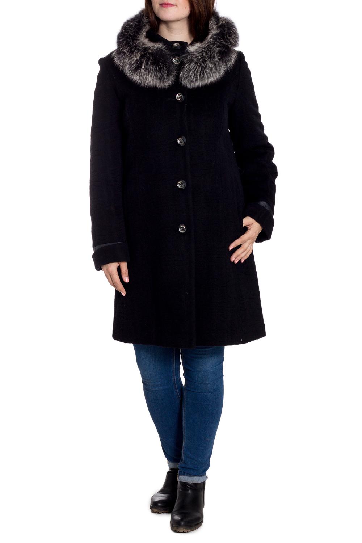 ПальтоПальто<br>Удлиненное зимнее пальто с отделкой из меха. Модель на подкладе, выполнена из плотной пальтовой ткани. Отличный выбор для повседневного гардероба. Ростовка изделия 168 см.  В изделии использованы цвета: черный  Рост девушки-фотомодели 180 см<br><br>Воротник: Стойка<br>Застежка: С пуговицами<br>По длине: До колена<br>По материалу: Пальтовая ткань,Шерсть<br>По рисунку: Однотонные<br>По силуэту: Прямые<br>По стилю: Повседневный стиль<br>По элементам: С декором,С капюшоном,С карманами<br>Рукав: Длинный рукав<br>По сезону: Зима<br>Размер : 50<br>Материал: Пальтовая ткань<br>Количество в наличии: 1