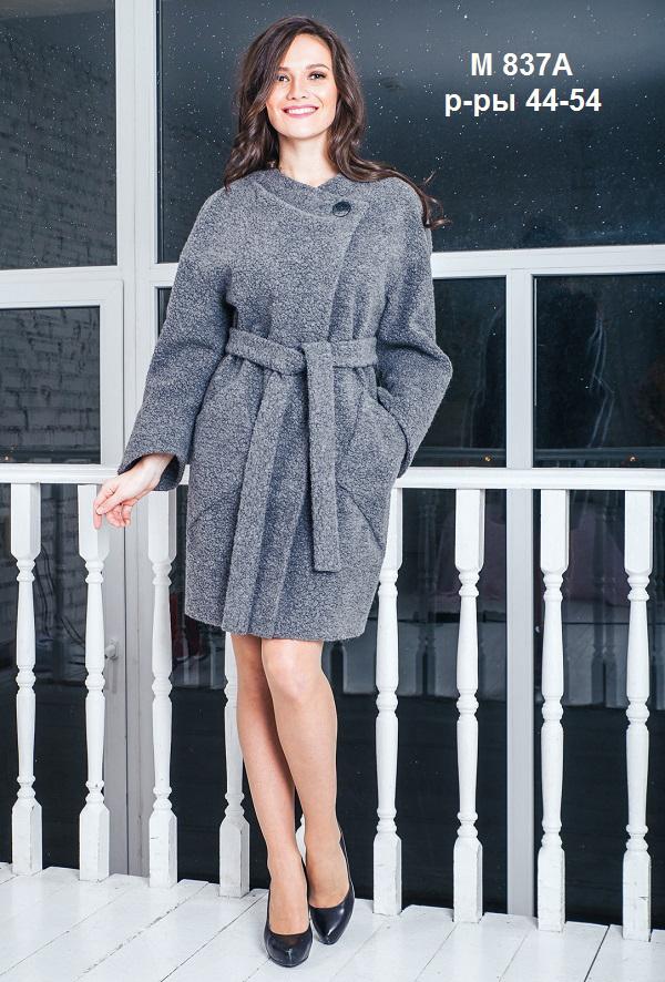 ПальтоПальто<br>Демисезонное пальто с цельнокроенным рукавом и застежкой на пуговицы. Модель выполнена из пальтовой ткани. Отличный выбор для повседневного гардероба. Пальто без пояса.  Цвет: серый  Ростовка изделия 170 см.<br><br>Застежка: С пуговицами<br>По длине: До колена<br>По материалу: Пальтовая ткань,Шерсть<br>По рисунку: Однотонные<br>По силуэту: Свободные<br>По стилю: Кэжуал,Офисный стиль,Повседневный стиль<br>По элементам: С карманами<br>Рукав: Длинный рукав<br>По сезону: Осень,Весна<br>Размер : 44,46,48,50,52,54<br>Материал: Пальтовая ткань<br>Количество в наличии: 6