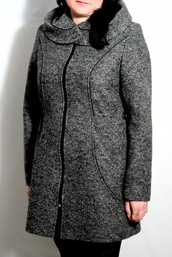 ПальтоПальто<br>Демисезонное пальто приталенного силуэта, длинной выше колена, капюшон, карманы, застежка на молнию. Возможно незначительное отличие фурнитуры.  Цвет: серый  Ростовка изделия 170 см.<br><br>Застежка: С молнией<br>По длине: До колена<br>По материалу: Пальтовая ткань,Шерсть<br>По рисунку: Однотонные<br>По силуэту: Приталенные<br>По стилю: Офисный стиль,Повседневный стиль<br>По элементам: С капюшоном,С карманами<br>Рукав: Длинный рукав<br>По сезону: Осень,Весна<br>Размер : 48,50<br>Материал: Пальтовая ткань<br>Количество в наличии: 2