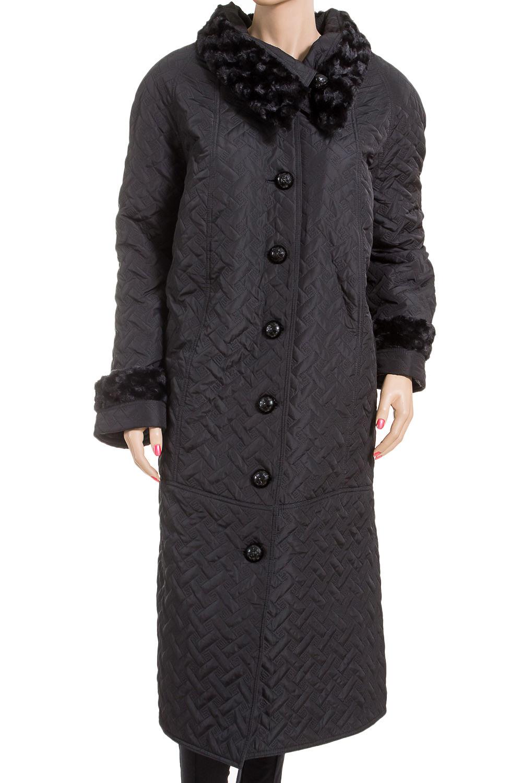ПальтоПальто<br>Демисезонное пальто длиной ниже колена с отложным воротником и застежкой на пуговицы. Модель выполнена из плотной плащевой ткани. Отличный выбор для повседневного гардероба.  Цвет: черный  Ростовка изделия 170 см.<br><br>Воротник: Отложной<br>Застежка: С пуговицами<br>По длине: Ниже колена<br>По материалу: Тканевые<br>По рисунку: Однотонные<br>По силуэту: Полуприталенные<br>По стилю: Повседневный стиль<br>По элементам: С декором,С карманами<br>Рукав: Длинный рукав<br>По сезону: Осень,Весна<br>Размер : 64,66<br>Материал: Плащевая ткань<br>Количество в наличии: 2
