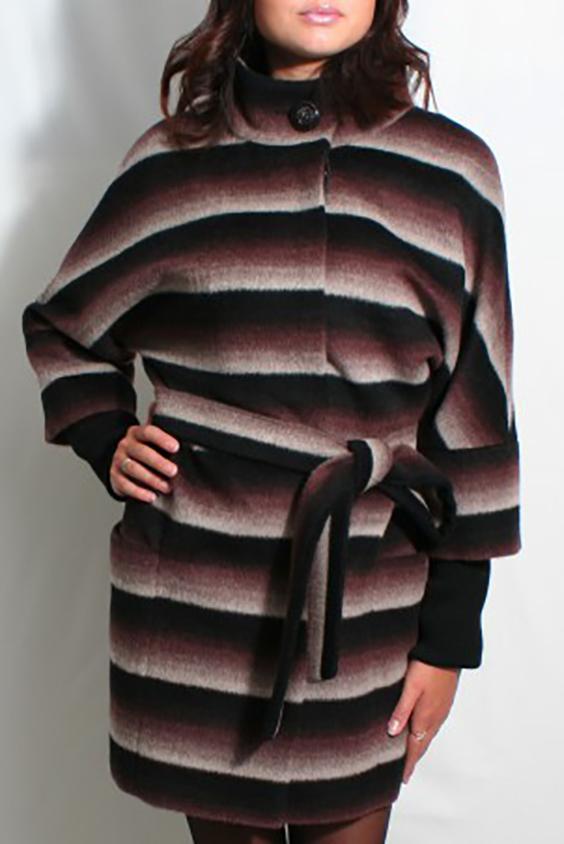 ПальтоПальто<br>Демисезонное пальто свободного силуэта с рукавами 3/4, длинной выше колена, застежка на пуговицы.Пальто без пояса.Цвет: черный, коричневый, бежевый, белыйРостовка изделия 164-170 см.<br><br>Воротник: Стойка<br>Застежка: С пуговицами<br>Рукав: Рукав три четверти<br>Длина: До колена<br>Материал: Пальтовая ткань,Шерсть<br>Рисунок: В полоску,С принтом,Цветные<br>Сезон: Весна,Осень<br>Силуэт: Свободные<br>Стиль: Повседневный стиль<br>Элементы: С карманами<br>Размер : 44<br>Материал: Пальтовая ткань<br>Количество в наличии: 1