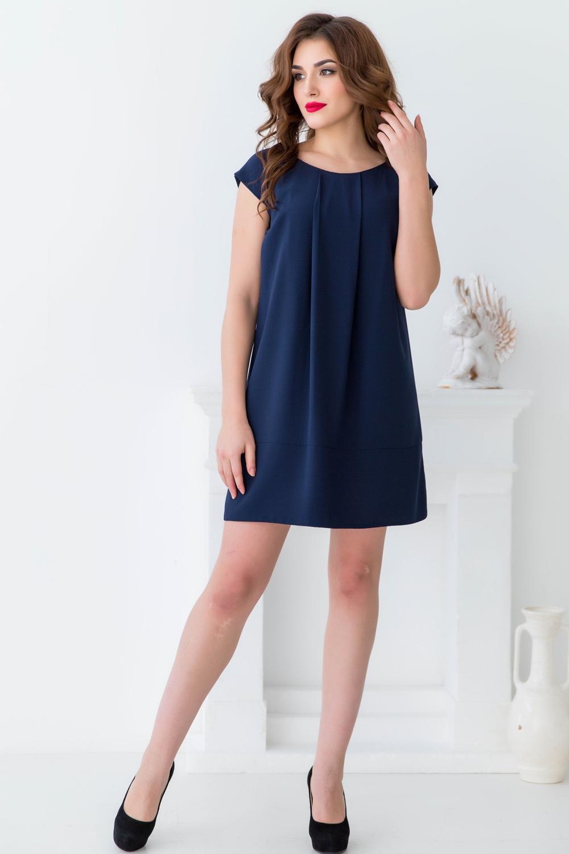 Платье платье oodji ultra цвет темно синий 14001071 9 46148 7900p размер s 44