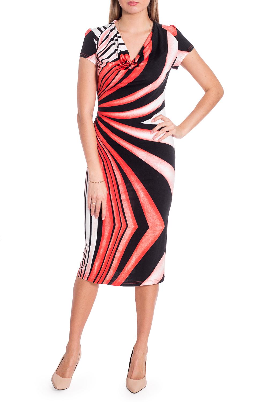ПлатьеПлатья<br>Эффектное платье длиной quot;мидиquot;. Модель выполнена из приятного материала. Отличный выбор для повседневного гардероба. Ростовка изделия 164 см.  В изделии использованы цвета: красный, черный, белый  Рост девушки-фотомодели 170 см  Параметры размеров: 42 размер - обхват груди 84 см., обхват талии 66 см., обхват бедер 90 см. 44 размер - обхват груди 88 см., обхват талии 70 см., обхват бедер 94 см. 46 размер - обхват груди 92 см., обхват талии 74 см., обхват бедер 98 см. 48 размер - обхват груди 96 см., обхват талии 78 см., обхват бедер 102 см. 50 размер - обхват груди 100 см., обхват талии 82 см., обхват бедер 106 см. 52 размер - обхват груди 104 см., обхват талии 86 см., обхват бедер 110 см. 54 размер - обхват груди 108 см., обхват талии 92 см., обхват бедер 116 см. 56 размер - обхват груди 112 см., обхват талии 98 см., обхват бедер 122 см. 58 размер - обхват груди 116 см., обхват талии 104 см., обхват бедер 128 см. 60 размер - обхват груди 120 см., обхват талии 110 см., обхват бедер 134 см. 62 размер - обхват груди 124 см., обхват талии 118 см., обхват бедер 140 см. 64 размер - обхват груди 128 см., обхват талии 126 см., обхват бедер 146 см. 66 размер - обхват груди 132 см., обхват талии 132 см., обхват бедер 152 см. 68 размер - обхват груди 138 см., обхват талии 140 см., обхват бедер 158 см.<br><br>Горловина: Качель<br>По материалу: Вискоза<br>По рисунку: С принтом,Цветные<br>По сезону: Весна,Лето<br>По силуэту: Приталенные<br>По стилю: Летний стиль,Повседневный стиль<br>По элементам: С разрезом<br>Разрез: Короткий<br>Рукав: Короткий рукав<br>По длине: Миди,Ниже колена<br>Размер : 44<br>Материал: Вискоза<br>Количество в наличии: 1