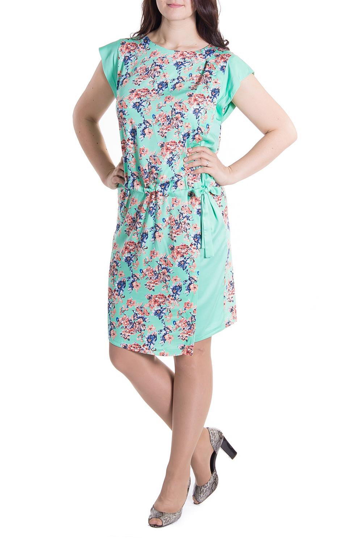 ПлатьеПлатья<br>Легкое хлопковое платье для прекрасных дам.<br><br>Горловина: С- горловина<br>По материалу: Хлопок<br>По рисунку: Растительные мотивы,Цветные,Цветочные,С принтом<br>По силуэту: Полуприталенные<br>По стилю: Летний стиль,Молодежный стиль,Повседневный стиль,Романтический стиль<br>По форме: Платье - футляр<br>Рукав: Короткий рукав<br>По сезону: Лето<br>По длине: До колена<br>Размер : 52<br>Материал: Хлопок<br>Количество в наличии: 1