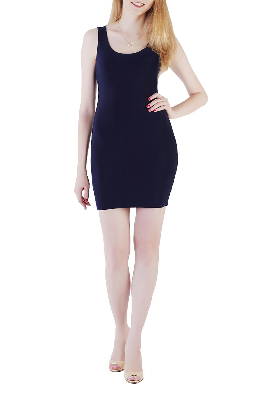 ПлатьеПлатья<br>Клубное платье из французского трикотажа. Его можно сочетать с гипюровой юбкой, такой комплект будет очень уместен на романтической прогулке, а также на торжественном вечере, если для него не подразумевался строгий дресс-код.  Длина изделия по спинке 85 см.  В изделии использованы цвета: темно-синий  Ростовка изделия 161-170 см.<br><br>Горловина: С- горловина<br>По длине: До колена,Мини<br>По материалу: Трикотаж<br>По рисунку: Однотонные<br>По сезону: Весна,Лето<br>По силуэту: Приталенные<br>По стилю: Кэжуал,Молодежный стиль,Повседневный стиль<br>По форме: Платье - футляр<br>Рукав: Без рукавов<br>Размер : 40,42,46<br>Материал: Холодное масло<br>Количество в наличии: 3