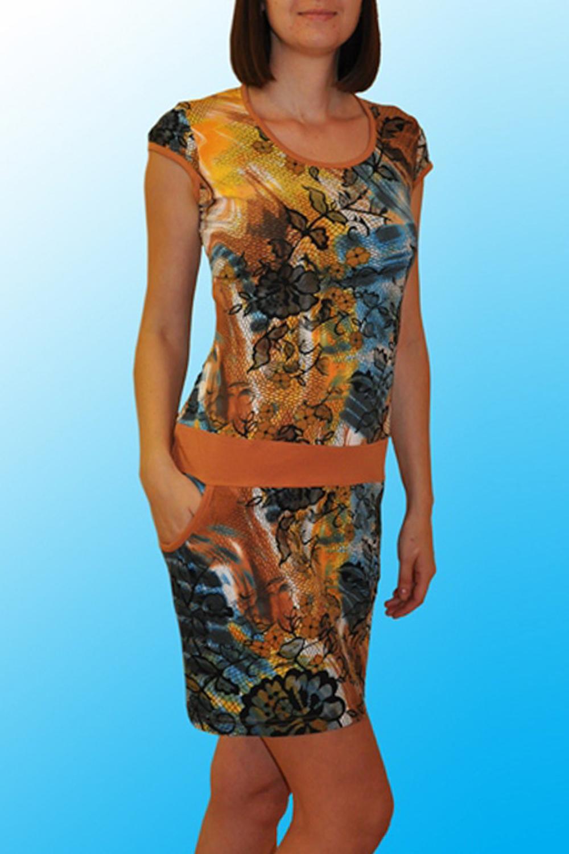 ПлатьеПлатья<br>Домашнее платье с короткими рукавами. Домашняя одежда, прежде всего, должна быть удобной, практичной и красивой. В нашей домашней одежде Вы будете чувствовать себя комфортно, особенно, по вечерам после трудового дня. Раскладка принта на ткани может отличаться от картинки.  Цвет: желтый, оранжевый, голубой, черный  Ростовка изделия 170 см.<br><br>Горловина: С- горловина<br>По рисунку: Цветные,С принтом<br>По сезону: Весна,Зима,Лето,Осень,Всесезон<br>По силуэту: Полуприталенные<br>По элементам: С карманами<br>Рукав: Короткий рукав<br>По длине: До колена<br>По материалу: Хлопок<br>По форме: Домашние платья<br>Размер : 42,44,50<br>Материал: Хлопок<br>Количество в наличии: 6