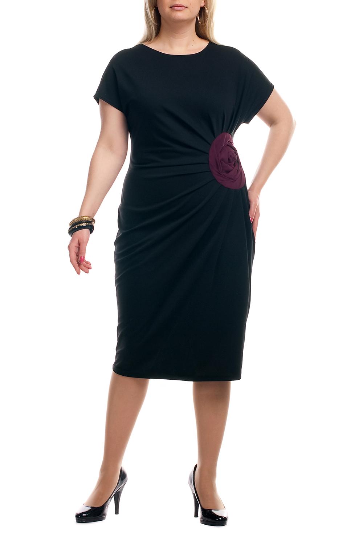 ПлатьеПлатья<br>Однотонное платье с контрастным декоративным элементом на талии. Модель выполнена из приятного трикотажа. Отличный выбор для любого случая.  Цвет: черный, бордовый  Рост девушки-фотомодели 173 см.<br><br>Горловина: С- горловина<br>По длине: Ниже колена<br>По материалу: Трикотаж<br>По рисунку: Однотонные<br>По силуэту: Полуприталенные<br>По стилю: Нарядный стиль,Повседневный стиль<br>По форме: Платье - футляр<br>По элементам: С декором,Со складками<br>Рукав: Короткий рукав<br>По сезону: Осень,Весна<br>Размер : 62,64,66<br>Материал: Трикотаж<br>Количество в наличии: 3