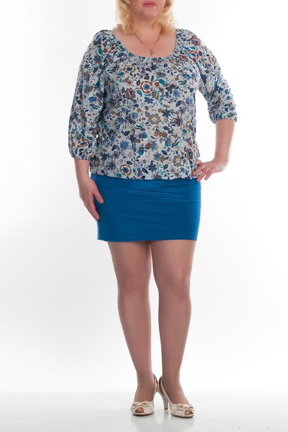 ПлатьеПлатья<br>Женское платье имитирующее блузку и юбку. Модель выполнена из хлопкового материала. Отличный выбор для повседневного гардероба.  Цвет: голубой, бежевый<br><br>Горловина: С- горловина<br>По рисунку: Растительные мотивы,Цветные,Цветочные,С принтом<br>По сезону: Весна,Осень<br>По силуэту: Полуприталенные<br>Рукав: Рукав три четверти<br>По форме: Платье - футляр<br>По материалу: Хлопок<br>По стилю: Повседневный стиль<br>По длине: До колена<br>Размер : 48,50,52,54<br>Материал: Хлопок<br>Количество в наличии: 26