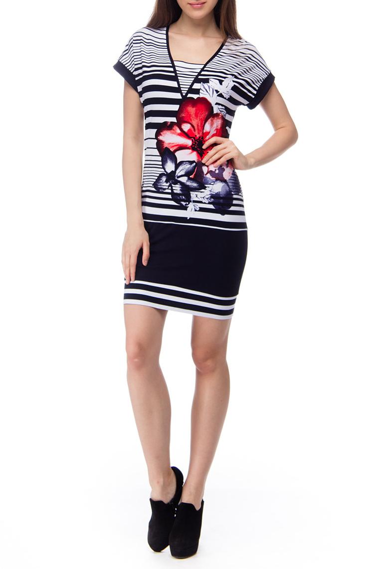 ПлатьеПлатья<br>Чудесное женское платье в морском стиле. Модель выполнена из мягкой вискозы. Отличный выбор для повседневного гардероба.Расположение принта на платье может незначительно отличаться.Платье без поясаЦвет: белый, синий, красный<br><br>Рукав: Короткий рукав<br>Горловина: Фигурная горловина<br>Длина: До колена<br>Материал: Вискоза,Трикотаж<br>Рисунок: В полоску,Растительные мотивы,Цветные,Цветочные,С принтом<br>Сезон: Лето<br>Силуэт: Полуприталенные<br>Стиль: Летний стиль,Повседневный стиль<br>Форма: Платье - футляр<br>Размер : 44,46,48,50<br>Материал: Вискоза<br>Количество в наличии: 8