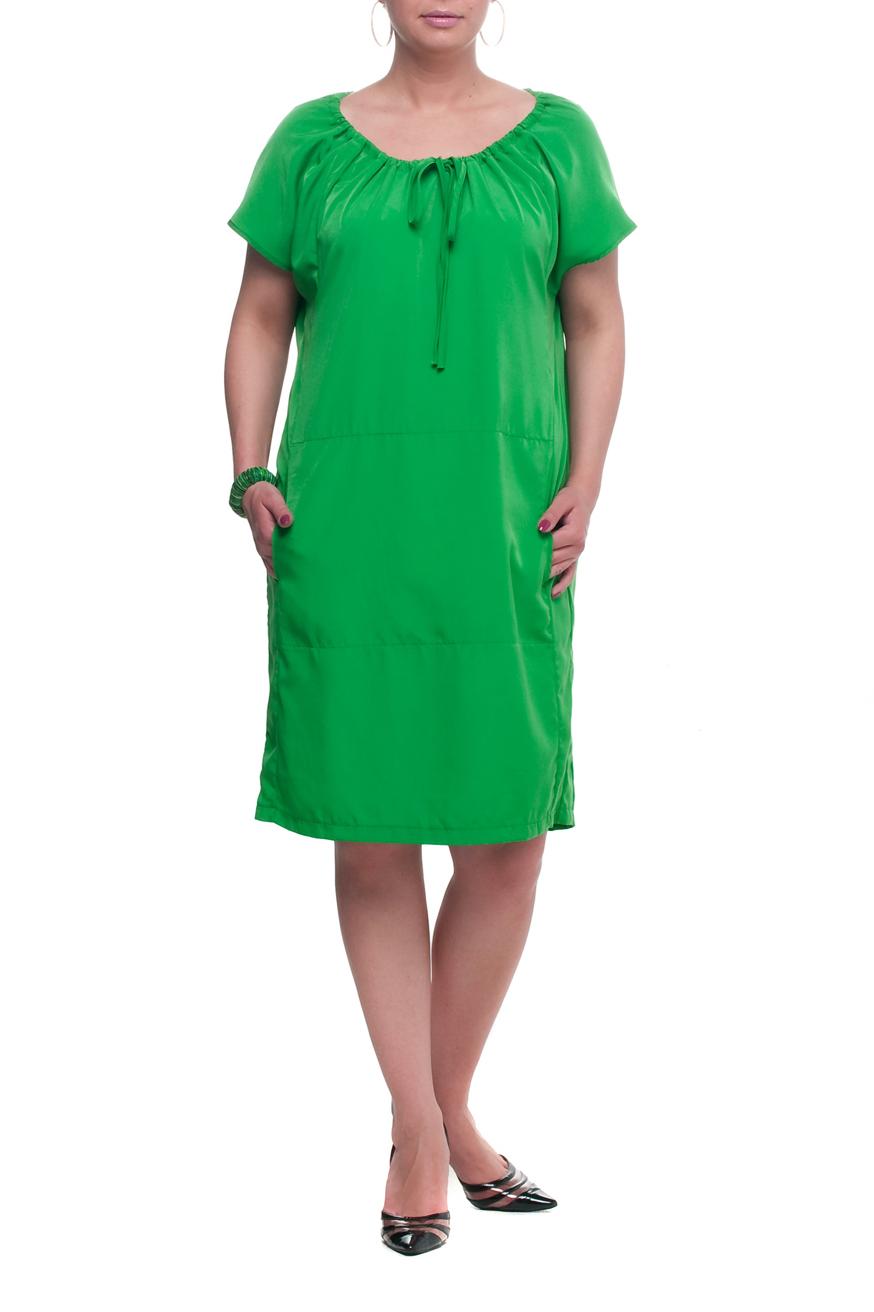 ПлатьеПлатья<br>Великолепное платье с короткими рукавами. Модель выполнена из приятного материала. Отличный выбор для любого случая.  Цвет: зеленый  Рост девушки-фотомодели 173 см<br><br>Горловина: С- горловина<br>По длине: Ниже колена<br>По материалу: Тканевые<br>По рисунку: Однотонные<br>По стилю: Повседневный стиль,Летний стиль<br>Рукав: Короткий рукав<br>По сезону: Лето<br>По силуэту: Прямые<br>Размер : 52,54,56,58,60,62,64,66<br>Материал: Плательная ткань<br>Количество в наличии: 9