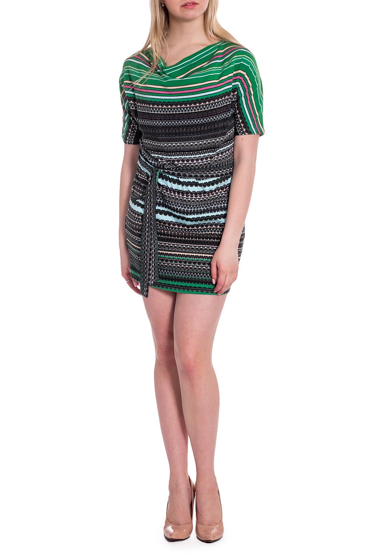 ПлатьеПлатья<br>Чудесное платье с горловиной качель и короткими рукавами. Модель выполнена из приятного трикотажа. Отличный выбор для повседневного гардероба. Платье без пояса.  В изделии использованы цвета: серый, зеленый и др.  Рост девушки-фотомодели 170 см<br><br>Горловина: Качель<br>По длине: До колена,Мини<br>По материалу: Вискоза<br>По рисунку: В полоску,С принтом,Цветные<br>По сезону: Лето,Осень,Весна<br>По силуэту: Полуприталенные<br>По стилю: Повседневный стиль<br>Рукав: Короткий рукав<br>Размер : 44,46,50,52<br>Материал: Вискоза<br>Количество в наличии: 4