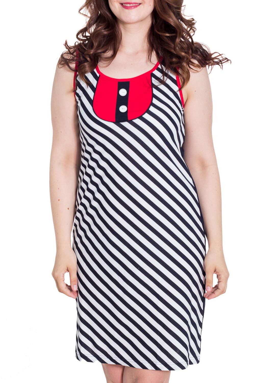 ПлатьеПлатья<br>Домашнее платье из хлопкового материала. Домашняя одежда, прежде всего, должна быть удобной, практичной и красивой. В наших изделиях Вы будете чувствовать себя комфортно, особенно, по вечерам после трудового дня.  Цвет: темно-синий, белый, красный  Рост девушки-фотомодели 180 см<br><br>Горловина: С- горловина<br>По рисунку: В полоску,Цветные,С принтом<br>По сезону: Весна,Зима,Лето,Осень,Всесезон<br>По силуэту: Полуприталенные<br>По длине: До колена<br>По материалу: Трикотаж,Хлопок<br>Рукав: Без рукавов<br>По форме: Домашние платья<br>Размер : 46,48,50<br>Материал: Трикотаж<br>Количество в наличии: 3