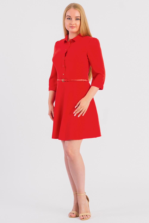 Платье бордюр разрезной люстрированный 1 3х25 см цвет красный