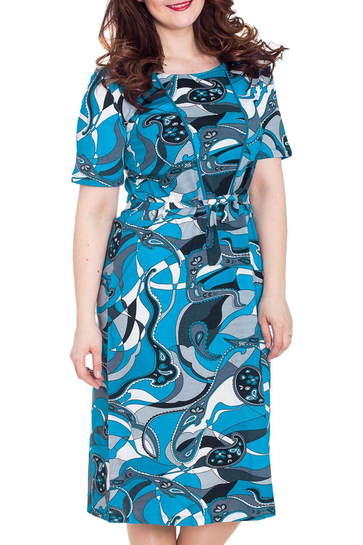ПлатьеПлатья<br>Домашнее платье с закругленной горловиной и короткими рукавами. Домашняя одежда, прежде всего, должна быть удобной, практичной и красивой. В платье Вы будете чувствовать себя комфортно, особенно, по вечерам после трудового дня.  Цвет: голубой, синий, серый, белый  Рост девушки-фотомодели 170 см.<br><br>Горловина: С- горловина<br>По рисунку: Абстракция,Цветные,С принтом<br>По силуэту: Полуприталенные<br>По форме: Платья<br>Рукав: Короткий рукав<br>По сезону: Осень,Весна<br>По длине: До колена<br>По материалу: Хлопок<br>Размер : 48<br>Материал: Хлопок<br>Количество в наличии: 4