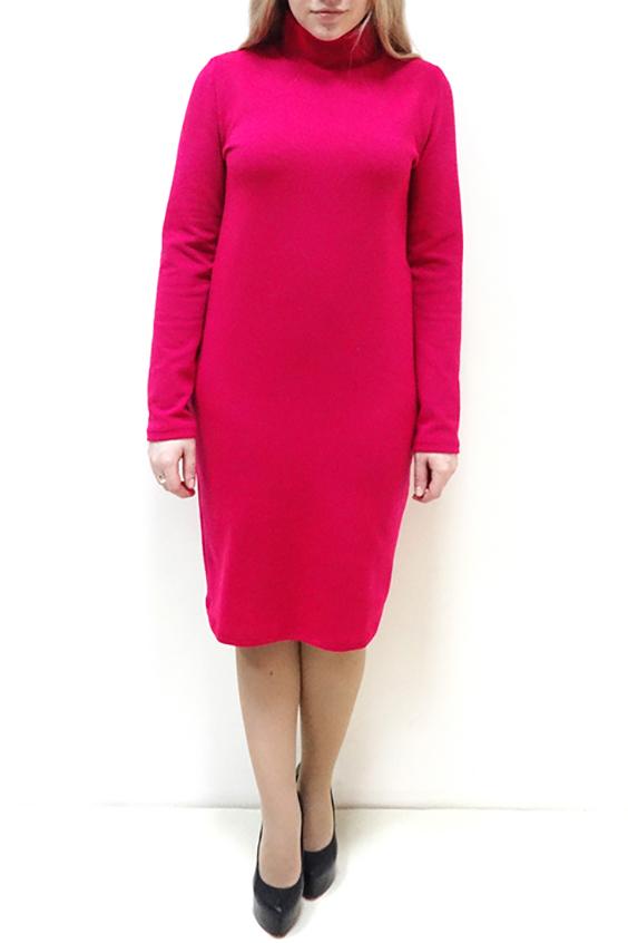 ПлатьеПлатья<br>Однотонное платье с воротником стойка и длинными рукавами. Модель выполнена из приятного трикотажа. Отличный выбор для повседневного гардероба.  Цвет: розовый  Рост девушки-фотомодели 162 см<br><br>Воротник: Стойка<br>По длине: Ниже колена<br>По материалу: Трикотаж<br>По рисунку: Однотонные<br>По силуэту: Полуприталенные,Прямые<br>По стилю: Повседневный стиль,Кэжуал<br>По форме: Платье - футляр<br>Рукав: Длинный рукав<br>По сезону: Осень,Весна,Зима<br>По элементам: С воротником<br>Размер : 46,48,50,52,54,56<br>Материал: Трикотаж<br>Количество в наличии: 10