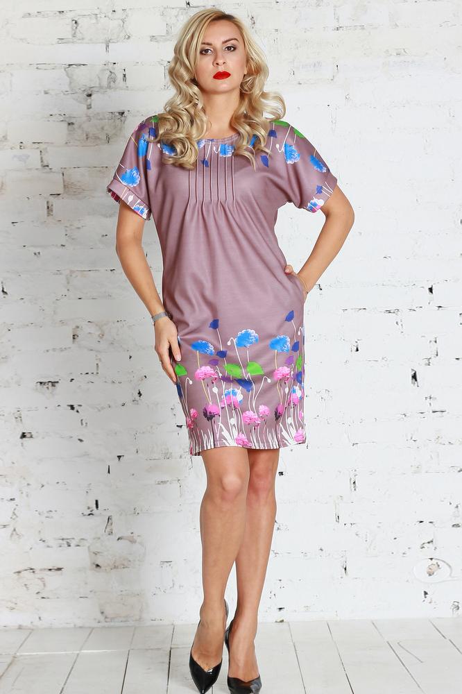 ПлатьеПлатья<br>Платье из плотного трикотажного полотна полуприлегающего силуэта с поясом, с внутренними боковыми карманами. Линия плеча спущена, оформлена обтачками, горловина оформлена защипами.  Цвет: розовый, мультицвет  Ростовка изделия 170 см.<br><br>По образу: Город,Свидание<br>По стилю: Романтический стиль,Повседневный стиль<br>По материалу: Трикотаж<br>По рисунку: Цветные,Цветочные,Растительные мотивы<br>По сезону: Зима<br>По силуэту: Прямые<br>По элементам: Со складками<br>По длине: До колена<br>Рукав: Короткий рукав<br>Горловина: С- горловина<br>Размер: 42,44,46,48,50,52,54<br>Материал: 50% полиэстер 30% шерсть 20% вискоза<br>Количество в наличии: 3