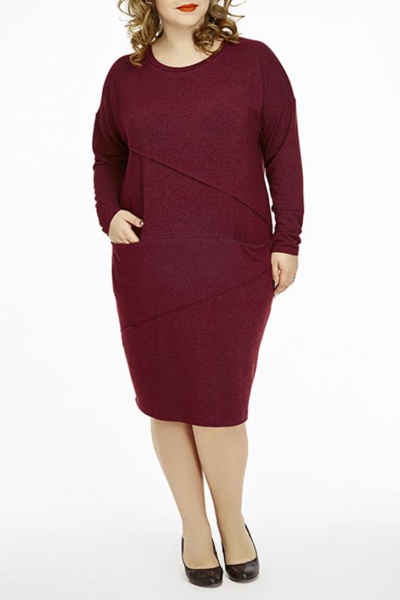 ПлатьеПлатья<br>Универсальное однотонное платье с круглой горловиной и длинными рукавами. Модель выполнена из плотного трикотажа. Отличный выбор для повседневного гардероба.  В изделии использованы цвета: бордовый  Ростовка изделия 164-170 см.  Параметры размеров: 40 размер - обхват груди 80 см., обхват талии 62 см., обхват бедер 86 см. 42 размер - обхват груди 84 см., обхват талии 66 см., обхват бедер 90 см. 44 размер - обхват груди 88 см., обхват талии 70 см., обхват бедер 94 см. 46 размер - обхват груди 92 см., обхват талии 74 см., обхват бедер 98 см. 48 размер - обхват груди 96 см., обхват талии 78 см., обхват бедер 102 см. 50 размер - обхват груди 100 см., обхват талии 82 см., обхват бедер 106 см. 52 размер - обхват груди 104 см., обхват талии 86 см., обхват бедер 110 см. 54 размер - обхват груди 110 см., обхват талии 92 см., обхват бедер 116 см. 56 размер - обхват груди 116 см., обхват талии 98 см., обхват бедер 122 см. 58 размер - обхват груди 122 см., обхват талии 104 см., обхват бедер 128 см. 60 размер - обхват груди 128 см., обхват талии 110 см., обхват бедер 134 см.<br><br>Горловина: С- горловина<br>По длине: Ниже колена<br>По материалу: Вискоза,Трикотаж<br>По рисунку: Однотонные<br>По сезону: Осень,Зима<br>По силуэту: Полуприталенные<br>По стилю: Повседневный стиль<br>По элементам: С декором,С карманами<br>Рукав: Длинный рукав<br>Размер : 52,54<br>Материал: Трикотаж<br>Количество в наличии: 3