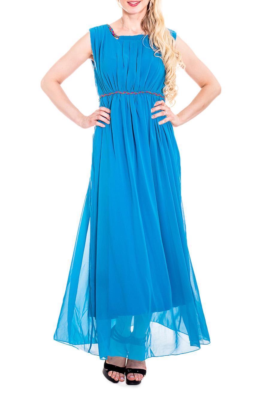 СарафанСарафаны<br>Чувственный, летний сарафан из легкого шифона и трикотажа с завышенной линией талии. Длинное платье стройнит, преображает фигуру, зрительно делает ее более пропорциональной и легкой.  Цвет: голубой  Рост девушки-фотомодели 170 см<br><br>Бретели: Широкие бретели<br>Горловина: С- горловина<br>По длине: Макси<br>По материалу: Трикотаж,Шифон<br>По образу: Свидание<br>По рисунку: Однотонные<br>По сезону: Весна,Зима,Лето,Осень,Всесезон<br>По силуэту: Полуприталенные<br>По стилю: Греческий стиль,Нарядный стиль<br>По элементам: Со складками<br>Рукав: Без рукавов<br>Размер : 42,44,46<br>Материал: Трикотаж + Шифон<br>Количество в наличии: 3