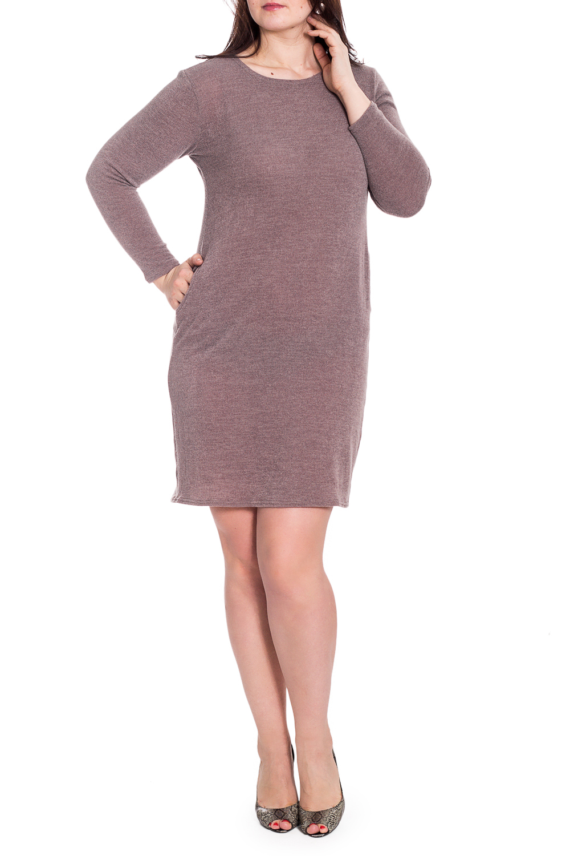 ПлатьеПлатья<br>Однотонное платье с круглой горловиной и длинными рукавами. Модель выполнена из мягкой вискозы. Отличный выбор для повседневного гардероба.   В изделии использованы цвета: коричневый  Рост девушки-фотомодели 180 см<br><br>Горловина: С- горловина<br>По длине: До колена<br>По материалу: Вискоза<br>По рисунку: Однотонные<br>По сезону: Весна,Осень,Зима<br>По силуэту: Приталенные<br>По стилю: Кэжуал,Повседневный стиль<br>По форме: Платье - футляр<br>Рукав: Длинный рукав<br>Размер : 52,54<br>Материал: Вискоза<br>Количество в наличии: 2