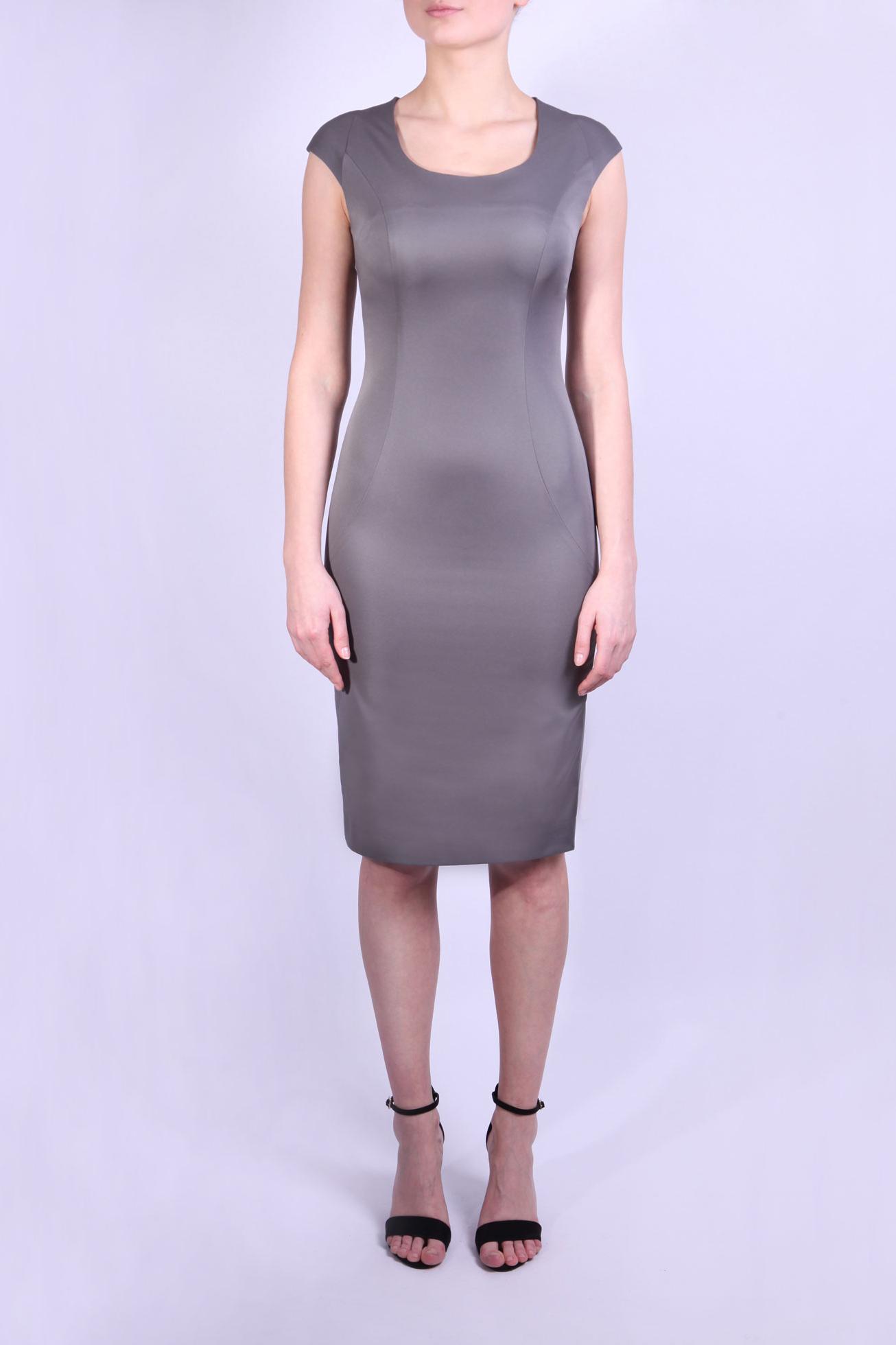 ПлатьеПлатья<br>Строгое и универсальное платье серого цвета без рукавов длиной до колен. Подойдет для ежедневного использования в Вашем офисе в теплое время года.  Параметры размеров: Обхват груди размер 44 - 88 см, размер 46 - 92 см, размер 48 - 96 см, размер 50 - 100 см Обхват талии размер 44 - 68 см, размер 46 - 72 см, размер 48 - 76 см, размер 50 - 80 см Обхват бедер размер 44 - 96 см, размер 46 - 100 см, размер 48 - 104 см, размер 50 - 108 см  Цвет: серый  Ростовка изделия 170 см.<br><br>Горловина: С- горловина<br>По длине: До колена<br>По материалу: Вискоза,Тканевые<br>По образу: Город,Офис<br>По рисунку: Однотонные<br>По силуэту: Приталенные<br>По стилю: Классический стиль,Офисный стиль,Повседневный стиль<br>По форме: Платье - футляр<br>По элементам: С разрезом<br>Разрез: Короткий,Шлица<br>Рукав: Без рукавов<br>По сезону: Осень,Весна<br>Размер : 44,46,48,50<br>Материал: Плательная ткань<br>Количество в наличии: 6