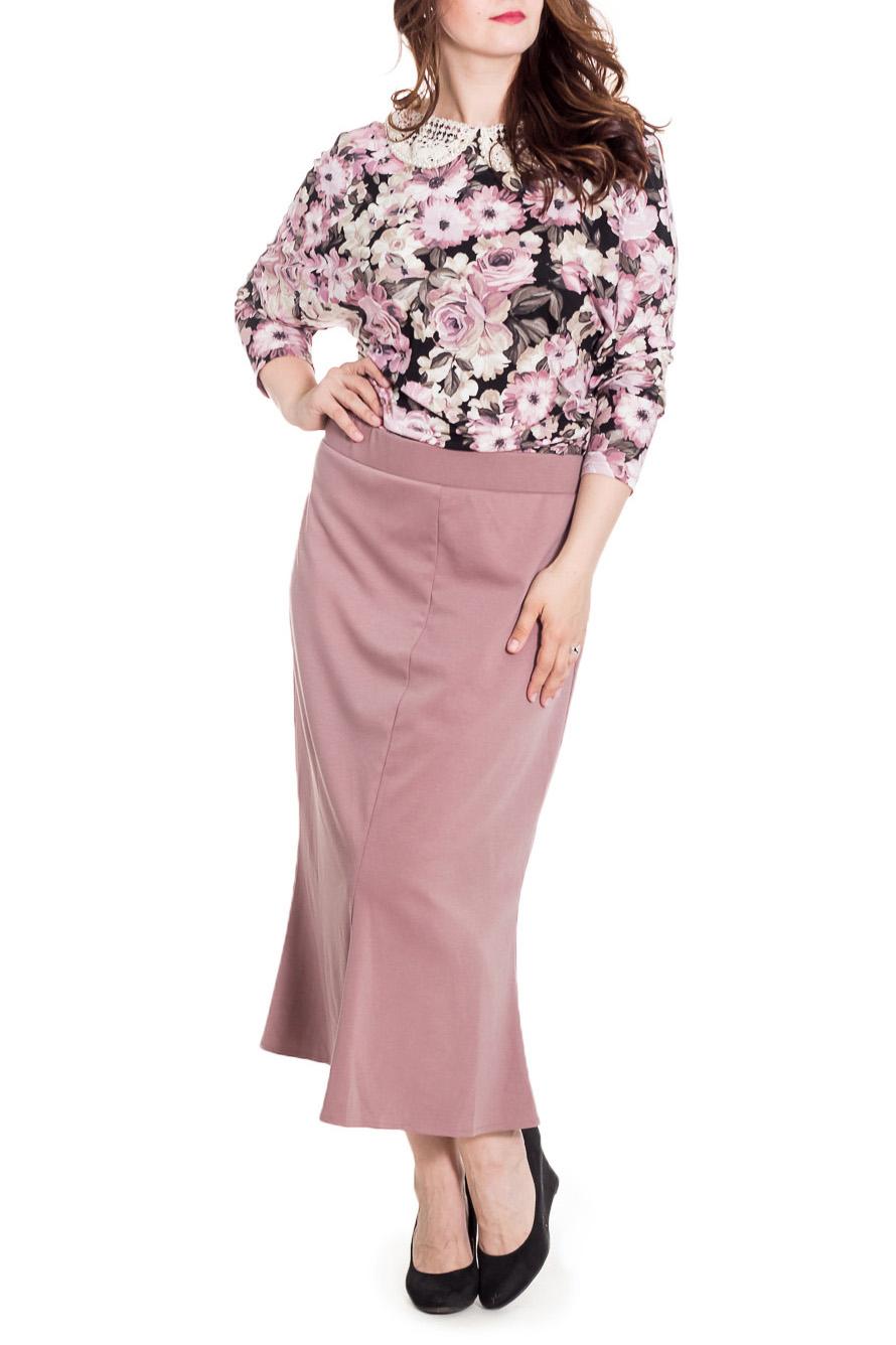 ПлатьеПлатья<br>Интересное платье с имитацией блузки и юбки-годе. Модель выполнена из приятного материала. Отличный выбор для любого случая. Ростовка изделия 170 см.  Цвет: розовый, черный, серый  Рост девушки-фотомодели 180 см.<br><br>Воротник: Отложной<br>Горловина: С- горловина<br>По длине: Макси<br>По материалу: Вискоза,Трикотаж<br>По образу: Город,Свидание<br>По рисунку: Растительные мотивы,С принтом,Цветные,Цветочные<br>По силуэту: Приталенные<br>По стилю: Повседневный стиль<br>По форме: Платье - футляр<br>Рукав: Рукав три четверти<br>По сезону: Осень,Весна<br>Размер : 56<br>Материал: Трикотаж<br>Количество в наличии: 1