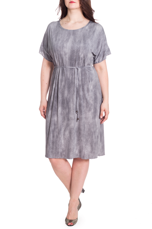 ПлатьеПлатья<br>Цветное платье с круглой горловиной и короткими рукавами. Модель выполнена из приятного материала. Отличный выбор для любого случая. Платье без пояса.  В изделии использованы цвета: серый, белый  Рост девушки-фотомодели 180 см<br><br>Горловина: С- горловина<br>По длине: Ниже колена<br>По материалу: Трикотаж<br>По рисунку: Цветные<br>По силуэту: Прямые<br>По стилю: Летний стиль,Повседневный стиль<br>Рукав: Короткий рукав<br>По сезону: Лето<br>Размер : 58<br>Материал: Холодное масло<br>Количество в наличии: 1