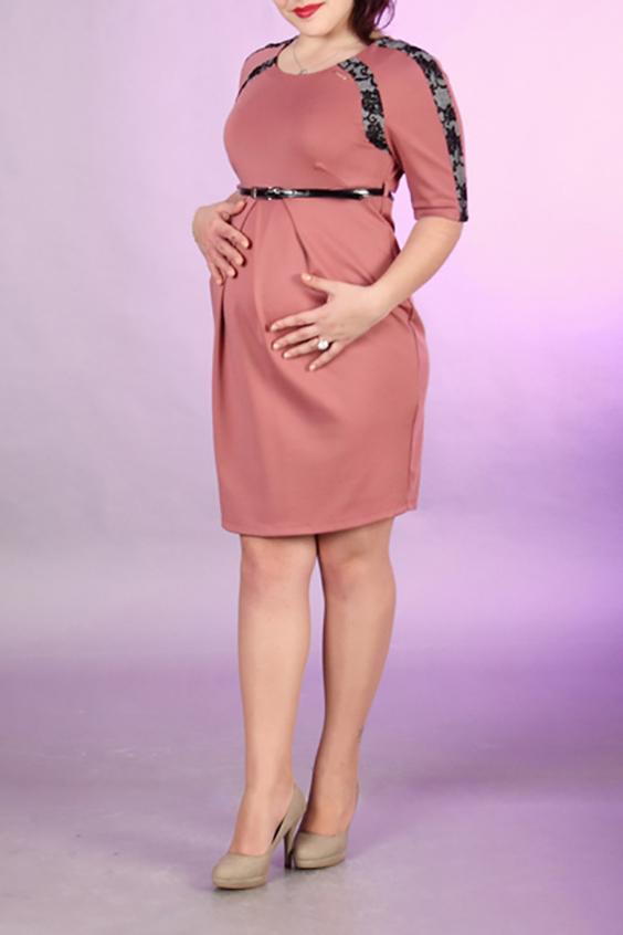 ПлатьеПлатья для будущих мам<br>Нарядное платье с круглой горловиной и рукавами до локтя. Модель выполнена из приятного материала. Отличный выбор для любого торжества. Платье без пояса.  За счет свободного кроя и эластичного материала изделие можно носить во время беременности  Цвет: розовый, черный  Ростовка изделия 170 см.<br><br>Горловина: С- горловина<br>По длине: До колена<br>По материалу: Трикотаж<br>По рисунку: Однотонные<br>По сезону: Весна,Осень,Всесезон,Зима,Лето<br>По силуэту: Полуприталенные<br>По стилю: Нарядный стиль,Повседневный стиль<br>По элементам: С декором,Со складками<br>Рукав: До локтя<br>Размер : 42,44,46,48,50<br>Материал: Джерси<br>Количество в наличии: 9