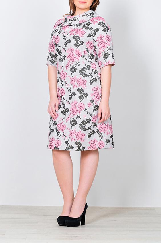 ПлатьеПлатья<br>Цветное платье с объемным воротником. Модель выполнена из приятного материала. Отличный выбор для повседневного гардероба. В изделии использованы цвета: серый, розовыйРостовка изделия 170 см.<br><br>Воротник: Стойка<br>Рукав: До локтя<br>Длина: До колена<br>Материал: Костюмные ткани<br>Рисунок: Растительные мотивы,С принтом,Цветные,Цветочные<br>Сезон: Весна,Осень<br>Силуэт: Полуприталенные<br>Стиль: Повседневный стиль<br>Форма: Платье - трапеция<br>Размер : 42,44,46,48<br>Материал: Костюмная ткань<br>Количество в наличии: 4