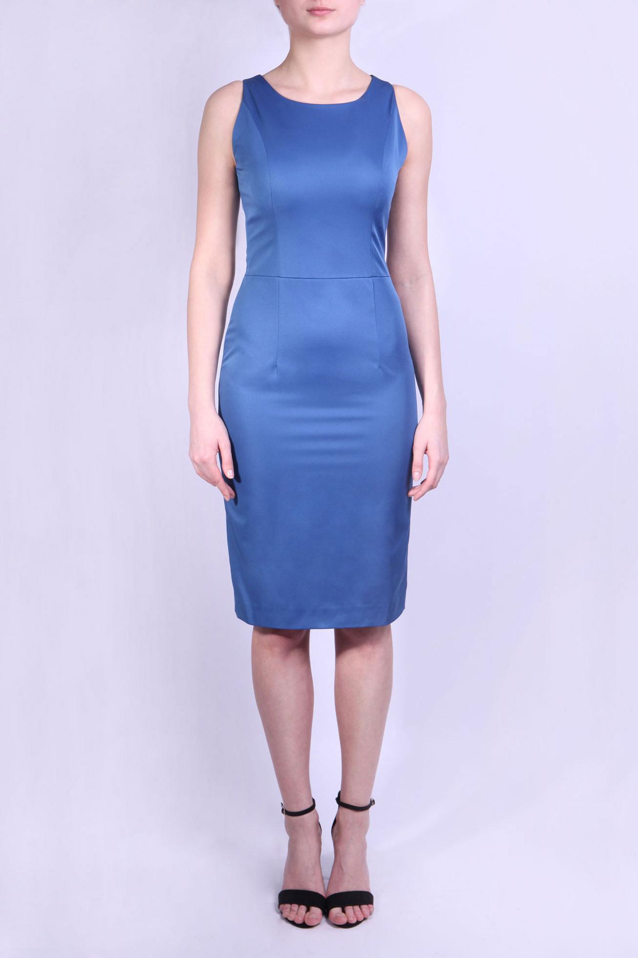 Платье платье oodji ultra цвет синий 14011015 46384 7500n размер xs 42 170