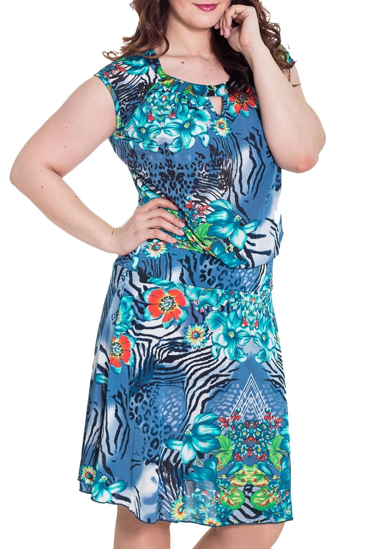 ПлатьеПлатья<br>Чудесное платье с короткими рукавами. Домашняя одежда, прежде всего, должна быть удобной, практичной и красивой. В нашей домашней одежде Вы будете чувствовать себя комфортно, особенно, по вечерам после трудового дня.  Цвет: голубой, синий, черный, зеленый  Рост девушки-фотомодели 180 см.<br><br>Горловина: С- горловина<br>По рисунку: Зебра,Растительные мотивы,Цветные,Цветочные<br>По силуэту: Полуприталенные<br>Рукав: Короткий рукав<br>По сезону: Лето<br>Размер : 48<br>Материал: Холодное масло<br>Количество в наличии: 2