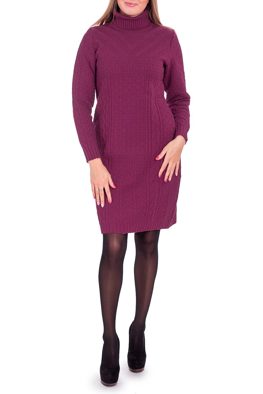 ПлатьеПлатья<br>Теплое платье с длинными рукавами. Вязаный трикотаж - это красота, тепло и комфорт. В вязаных вещах очень легко оставаться женственной и в то же время не замёрзнуть.  В изделии использованы цвета: винный  Рост девушки-фотомодели 170 см<br><br>Воротник: Стойка<br>По длине: До колена<br>По материалу: Вязаные,Трикотаж<br>По образу: Город,Свидание<br>По рисунку: Однотонные,Фактурный рисунок<br>По силуэту: Приталенные<br>По стилю: Повседневный стиль<br>По форме: Платье - футляр<br>Рукав: Длинный рукав<br>По сезону: Зима<br>Размер : 44<br>Материал: Вязаное полотно<br>Количество в наличии: 1