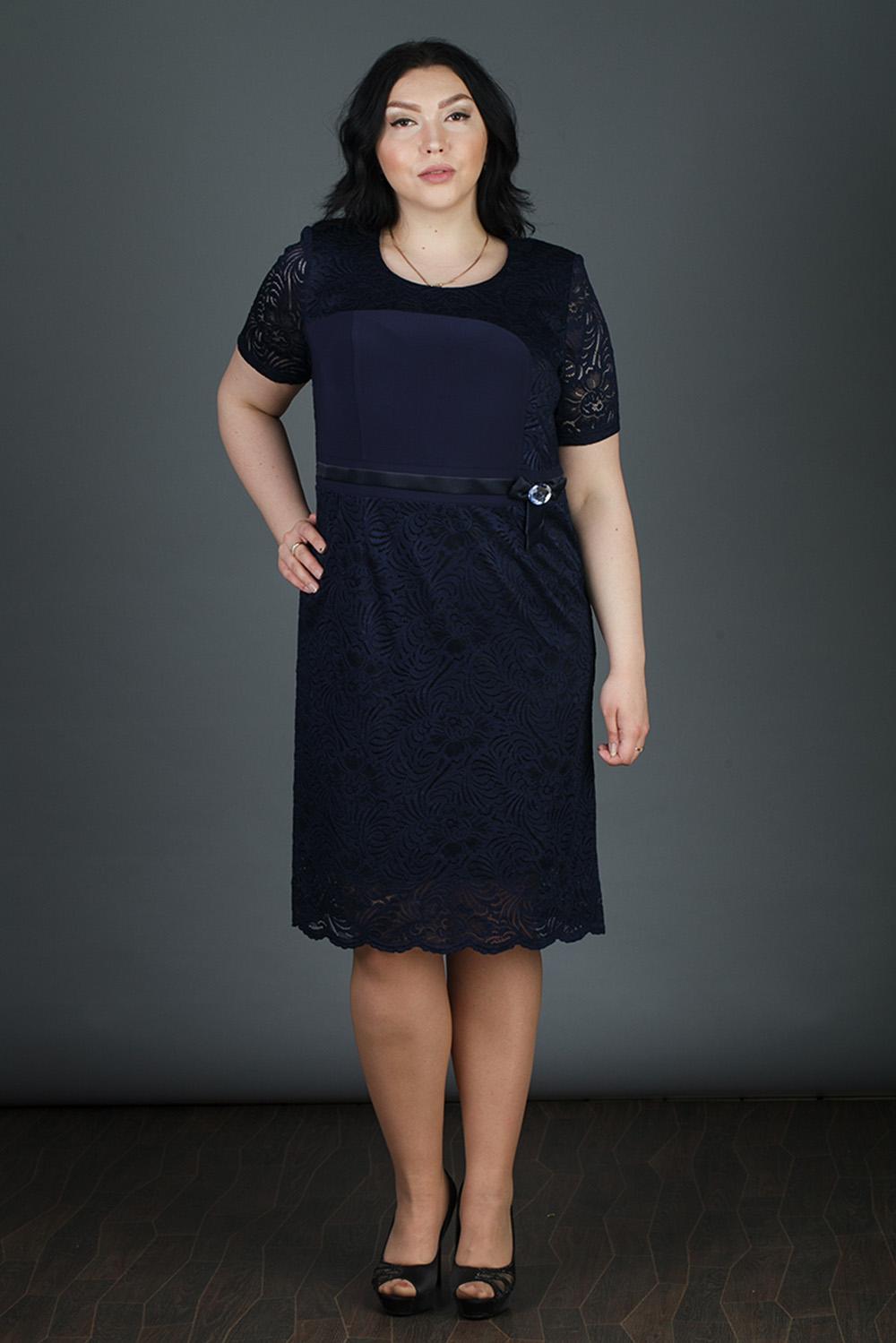 Платье комплект vitamins bd1319 размер 56 62 см цвет голубой