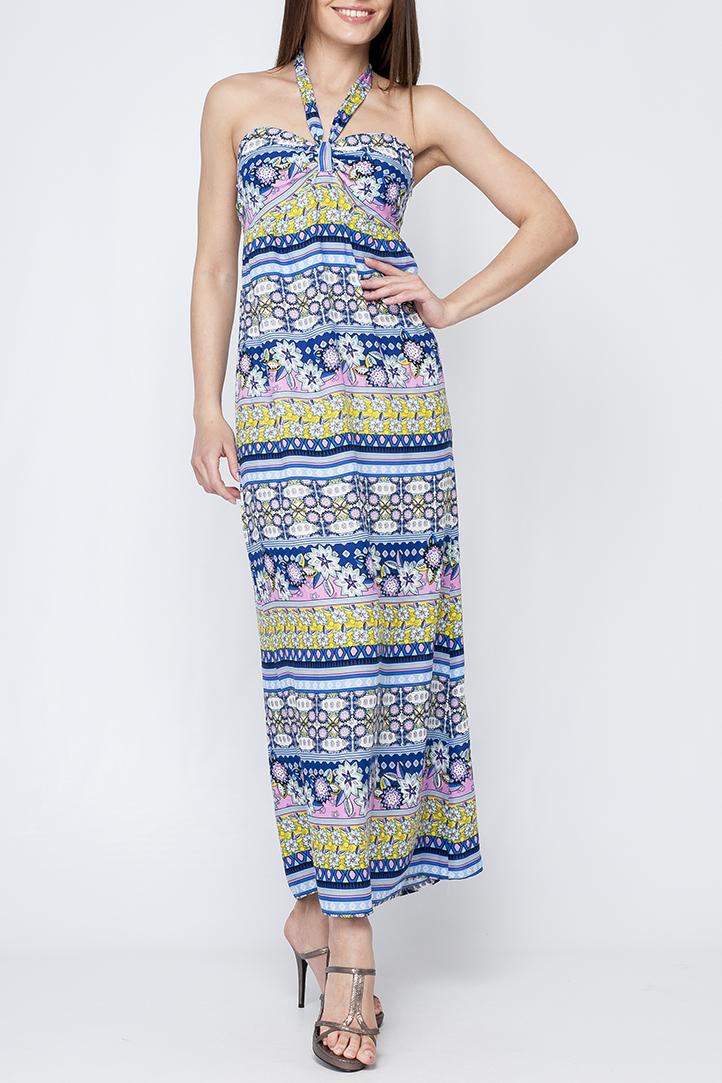 ПлатьеПлатья<br>Цветное платье в пол с открытыми плечами. Модель выполнена из хлопкового материала. Отличный выбор для летнего гардероба.  Параметры изделия:  44 размер: обхват по линии груди - 88 - 92 см, обхват по линии бедер - 96-100 см, длина по спинке - 113 см; 52 размер: обхват по линии груди - 104-108 см, обхват по линии бедер - 112-116 см, длина по спинке - 115,5 см  Цвет: синий, голубой, розовый, салатовый  Рост девушки-фотомодели 170 см<br><br>По длине: Макси<br>По материалу: Хлопок<br>По рисунку: В полоску,Растительные мотивы,С принтом,Цветные,Цветочные<br>По силуэту: Свободные<br>По стилю: Летний стиль<br>По форме: Платье - трапеция<br>По элементам: С завышенной талией,С открытой спиной,С открытыми плечами<br>Рукав: Без рукавов<br>По сезону: Лето<br>Размер : 42,44,46,48,50,52<br>Материал: Хлопок<br>Количество в наличии: 11