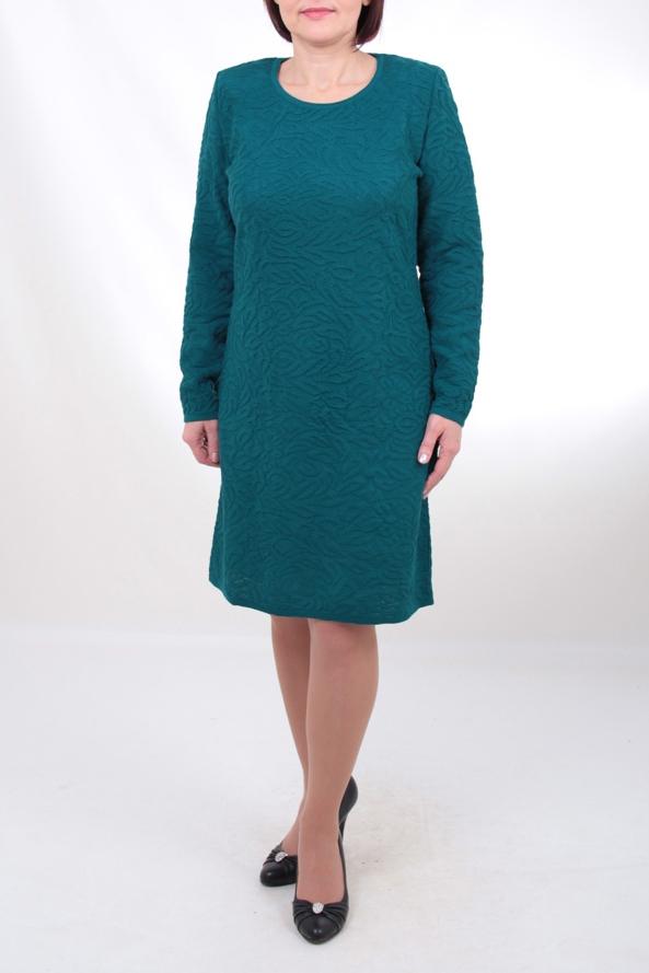 ПлатьеПлатья<br>Великолепное платье с длинными рукавами. Вязаный трикотаж - это красота, тепло и комфорт. В вязаных вещах очень легко оставаться женственной и в то же время не замёрзнуть. Отличный выбор для любого случая.  Цвет: темно-бирюзовый  Ростовка изделия 170 см.<br><br>По образу: Город,Свидание<br>По стилю: Повседневный стиль<br>По материалу: Вязаные,Трикотаж,Шерсть<br>По рисунку: Однотонные,Фактурный рисунок<br>По сезону: Зима<br>По силуэту: Полуприталенные<br>По форме: Платье - футляр<br>По длине: Ниже колена<br>Рукав: Длинный рукав<br>Горловина: С- горловина<br>Размер: 48,50,52,54,56,58<br>Материал: 30% шерсть 70 % нитрон<br>Количество в наличии: 10