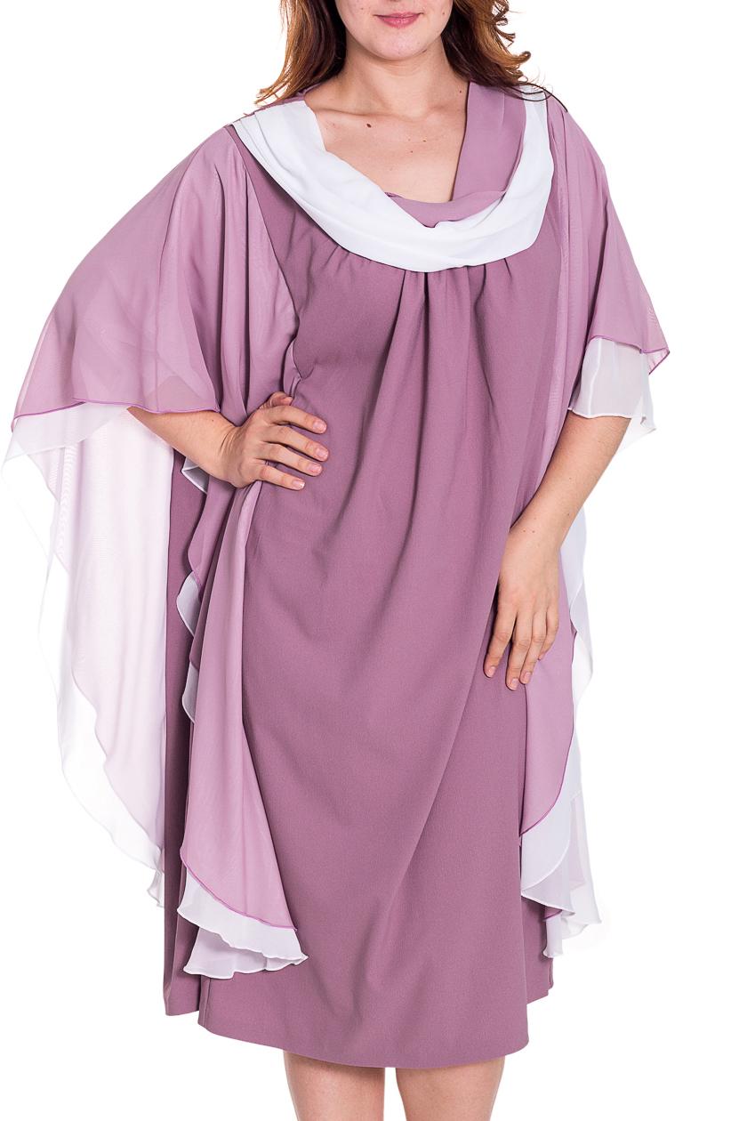 ПлатьеПлатья<br>Женское платье свободного силуэта с рукавами до локтя. Модель выполнена из  воздушного шифона. Отличный выбор для любого случая.  Цвет: розовый, белый  Рост девушки-фотомодели 180 см.<br><br>По длине: Ниже колена<br>По материалу: Шифон<br>По рисунку: Цветные<br>По сезону: Весна,Зима,Лето,Осень,Всесезон<br>По силуэту: Свободные<br>По стилю: Нарядный стиль,Вечерний стиль<br>Рукав: До локтя<br>Горловина: Качель<br>Размер : 60,68<br>Материал: Шифон<br>Количество в наличии: 3