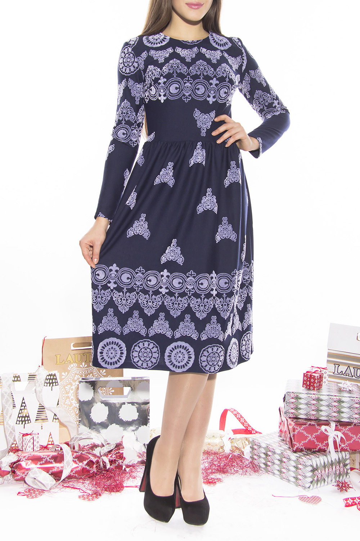 ПлатьеПлатья<br>Цветное платье с длинными рукавами. Модель выполнена из приятного материала. Отличный выбор для любого случая.  Длина по спинке 44 размер - 111 см 46 размер - 111 см 48 размер - 112 см 50 размер - 111 см 52 размер - 113см  Длина рукава 44 размер - 60 см 46 размер - 60 см 48 размер - 60 см 50 размер - 61 см 52 размер - 61 см  Цвет: фиолетовый, сиреневый<br><br>Горловина: С- горловина<br>По длине: Ниже колена<br>По материалу: Трикотаж<br>По рисунку: Абстракция,С принтом,Цветные<br>По силуэту: Полуприталенные<br>По стилю: Повседневный стиль<br>По форме: Платье - трапеция<br>Рукав: Длинный рукав<br>По сезону: Осень,Весна,Зима<br>Размер : 44,46,48,50<br>Материал: Трикотаж<br>Количество в наличии: 4