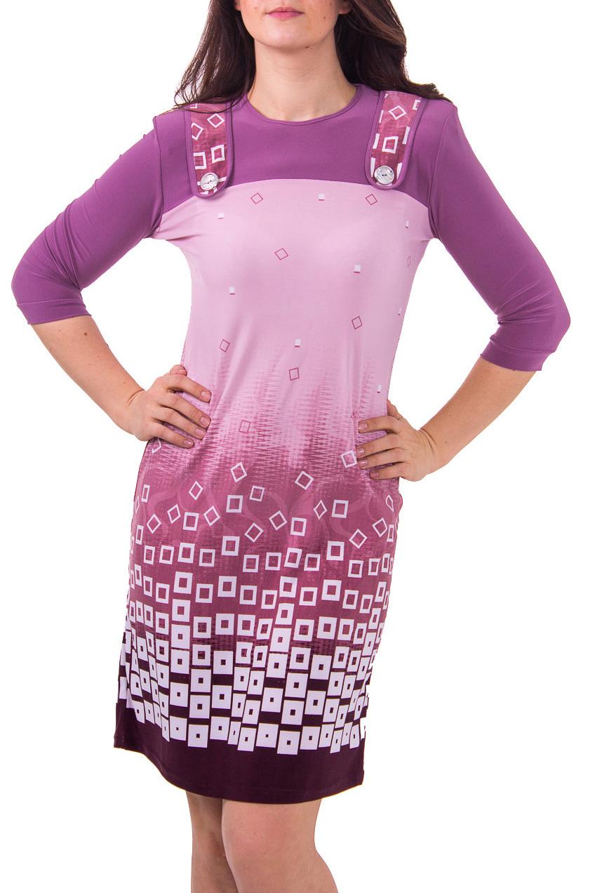 ПлатьеПлатья<br>Женское платье из приятного трикотажа. Платье имитирует сарафан и лонгслив.  Рост девушки-фотомодели - 180 см<br><br>Горловина: С- горловина,С- горловина<br>По материалу: Вискоза,Вискоза,Трикотаж<br>По образу: Город,Город<br>По рисунку: Абстракция,Абстракция,Цветные,Цветные,С принтом<br>По сезону: Осень,Осень,Весна<br>По силуэту: Полуприталенные,Полуприталенные<br>По элементам: С декором,С декором<br>Рукав: Рукав три четверти,Рукав три четверти<br>По стилю: Повседневный стиль<br>По длине: До колена<br>По форме: Платье - футляр<br>Размер : 48,50<br>Материал: Холодное масло<br>Количество в наличии: 2