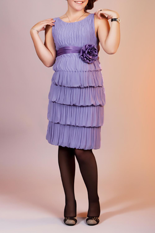 ПлатьеПлатья для будущих мам<br>Нарядное платье без рукавов. Модель выполнена из приятного материала. Отличный выбор для любого случая. Платье без декоративного пояса с цветком.  За счет свободного кроя и эластичного материала изделие можно носить во время беременности  Цвет: фиолетовый  Ростовка изделия 170 см.<br><br>Горловина: С- горловина<br>По материалу: Вискоза,Атлас<br>По рисунку: Однотонные<br>По сезону: Весна,Зима,Лето,Осень,Всесезон<br>По силуэту: Полуприталенные<br>По элементам: С декором<br>Рукав: Без рукавов<br>По форме: Платья для будущих мам<br>По стилю: Вечерний стиль,Летний стиль,Нарядный стиль<br>По длине: До колена<br>Размер : 44,48<br>Материал: Вискоза + Атлас<br>Количество в наличии: 2