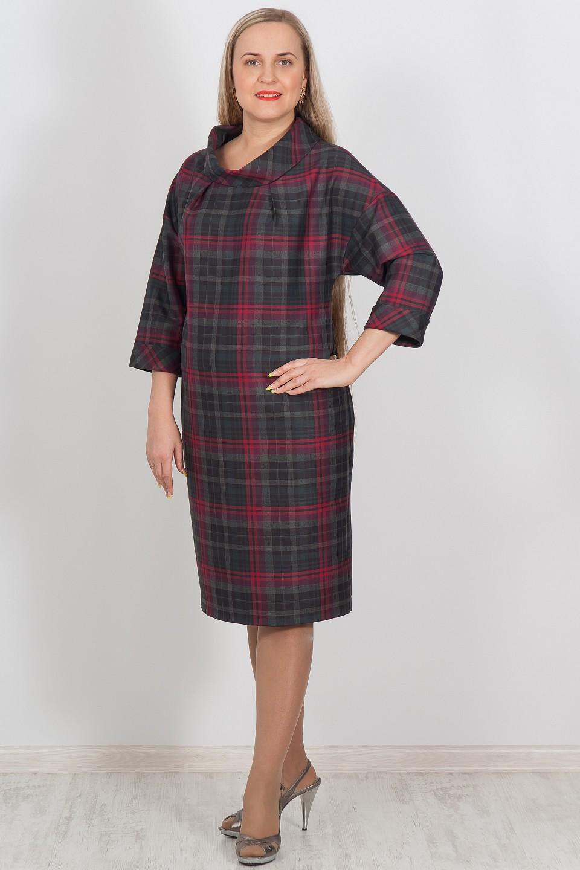 ПлатьеПлатья<br>Великолепное повседневное платье с объемным воротником и широкими рукавами. Модель выполнена из приятного материала. Отличный выбор для любого случая.  Цвет: серый, розовый  Ростовка изделия 170 см.<br><br>Воротник: Стойка<br>По длине: Ниже колена<br>По материалу: Вискоза,Костюмные ткани,Тканевые<br>По образу: Город,Офис,Свидание<br>По рисунку: В полоску,Геометрия,С принтом,Цветные<br>По силуэту: Полуприталенные<br>По стилю: Офисный стиль,Повседневный стиль<br>По элементам: С манжетами<br>Рукав: Рукав три четверти<br>По сезону: Осень,Весна<br>Размер : 46,48,50,52,54,56<br>Материал: Костюмная ткань<br>Количество в наличии: 1