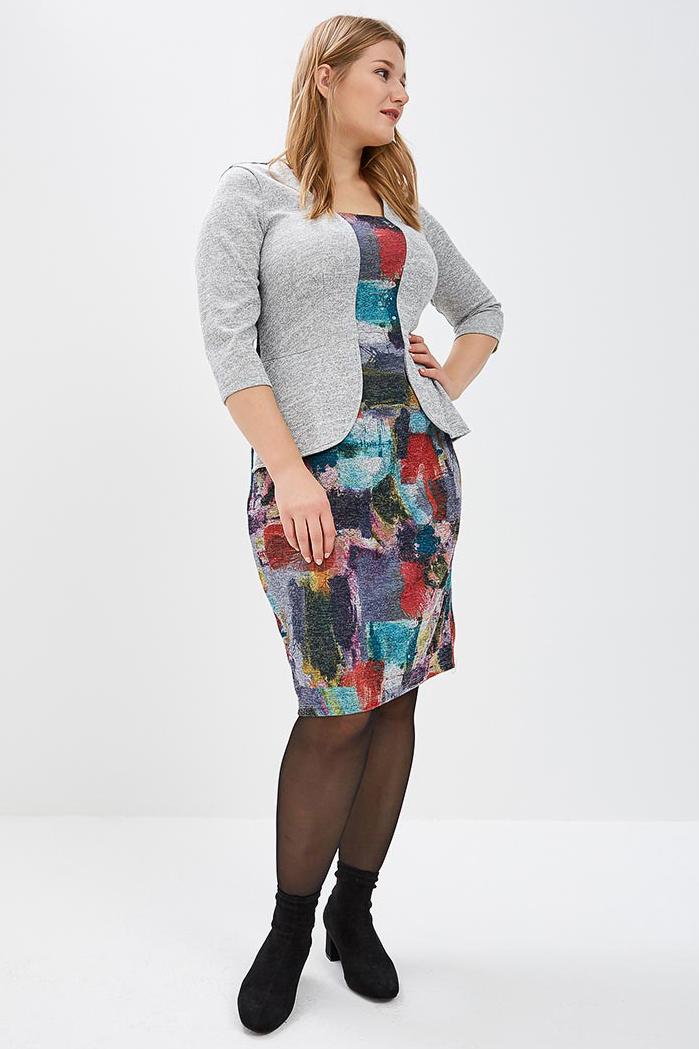 Платье платье женское main frill 6028 цвет бирюзовый